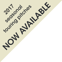 2016 seasonal touring pitches now available
